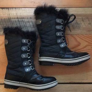 Girls Sorel Joan of Arctic winter boots size 2 EUC